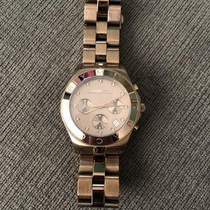 Marc Jacobs Women's Amy Dexter Rosegold Watch